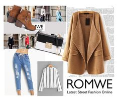 """Romwe III"" by lugavicjasmina ❤ liked on Polyvore featuring WithChic"