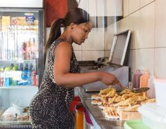 Winnie's Tuckshop in Tembisa is the place to go for kotas: hollowed out loaves of bread filled with a variety of fattening South African foods. South African Recipes, Food, Eten, Meals, Diet