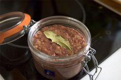 Pâté de foie de volaille de mon papa - Recette de Cuisine ~ Mademoiselle Cuisine : recettes, astuces, actu cuisine