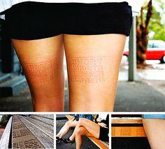Short Shorts Superette - Street Marketing & Ambient Marketing
