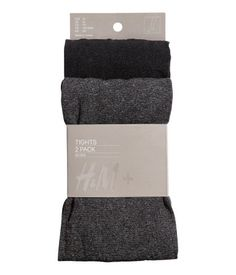 H & M plus sized tights - grey H&m Online, Fitbit, Fashion Online, Kids Fashion, Tights, Clothes, Shopping, Detail, Grey