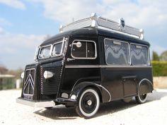 Citroën HY , Corbillard ancien, Eligor - Minia17 Citroen Type H, Citroen H Van, Citroen Traction, Camping Car, Sweet Cars, Station Wagon, Ambulance, Amazing Cars, Bugatti