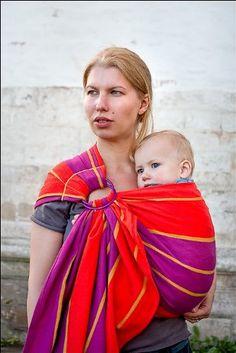 Bulline écharpe de portage avec anneau Violette NEOBULLE  Amazon.fr  Bébés    Puériculture 9f165daef25