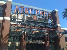 AT & T Park home of the GIANTS in San Fran