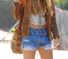 Turquoise statement pieces.