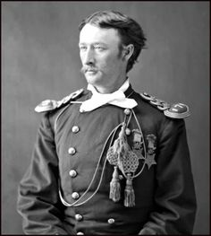 Colonel Thomas Custer, Seventh Cavalry, the brother of General George Armstrong Custer. He was killed in the same battle at the Little Big Horn, 1876.