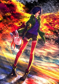 Browse Tokyo Ghoul Kirishima Touka Collected By Rodiana Andreea And Make Your Own Anime Album