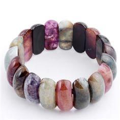Polished Gemstone Bracelet   Chip Coffey Merchandise