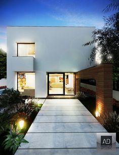 Bragadiru Residence by Arcodec-com | HomeAdore