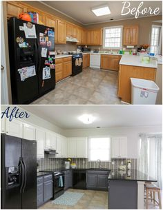 buying and selling kitchen makeover