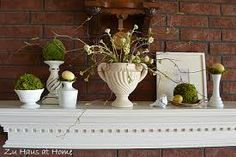 decorating with moss balls - Google Search