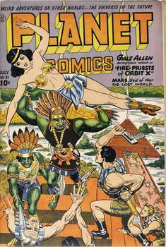 Planet Comics – Page 3 – Pulp Covers Sci Fi Comics, Old Comics, Horror Comics, Vintage Comics, Science Fiction Art, Pulp Fiction, Comic Book Covers, Comic Books Art, Book Art