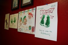 Christmas Handprint Art for Children