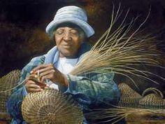 Sweetgrass Basket weaving, Charleston