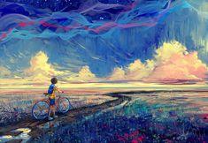Excepcional uso de los colores en 'Impressionism' por yuumei