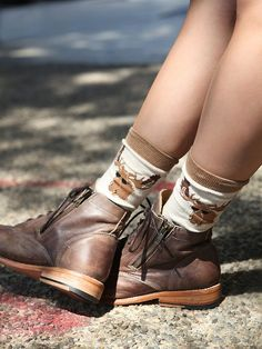 Free People Oregon Trail Sock, 12.00