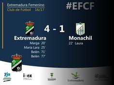 2da DIVISIÓN | Jornada 11  Extremadura 4-1 Monachil de Granda  Gran encuentro del Extremadura que mantuvo la intensidad durante los 90 minutos ante un equipo correoso que no lo puso fácil.  #EFCF #futfem