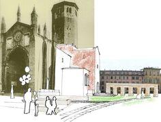 Riqualificazione della Piazza S.Antonino di Piacenza