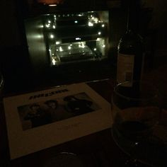 The cure, wine, twinkly lights