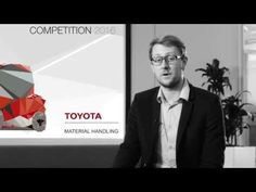 Toyota Logistic Design Competition - Interview with , Tomas Jankauskas,  2nd place 2014 competition.