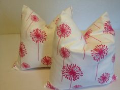 Decorative  Throw  Pillow   covers   22x22 24x24.  by NAOMIFRANCIS, $48.00