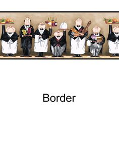 Chefs border from wallpaperwholesaler.com