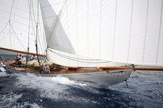 William Fife III 42 ft Gaff Cutter 1909 EVA