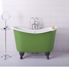 Mini bathtubs and mini bathtub shower combos go a long way to mitigating the problem of a small bathrooms. If your bathroom fixtures are spectacular, who notices how much space. Mini Bathtub, Deep Bathtub, Bathtub Shower Combo, Small Bathtub, Small Bathrooms, Tiny House Bathtub, Modern Bathrooms, Bath Shower, Corner Bathtub