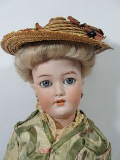 Antique Simon & Halbig 1159 Bisque Head Fashion Doll w/ Shapely Composition Body | Dolls & Bears, Dolls, Antique (Pre-1930) | eBay!