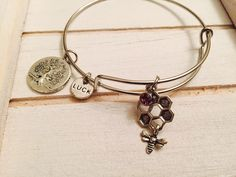 A day without a friend is like a pot without a single drop of honeycharm Bangle Bracelet, Adult size, Winnie the Pooh Themed Bracelet by FairytaleBangles on Etsy https://www.etsy.com/listing/462717932/a-day-without-a-friend-is-like-a-pot