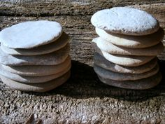FLAT GREY STONES set of 12 by earthcrums on Etsy, $15.00
