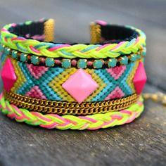 """Bracelet manchette brésilienne """"santiago"""" (pièce unique)"""