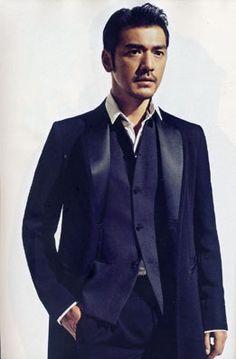 Takeshi Kaneshiro. Armani