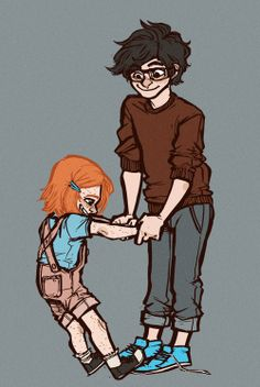James II and Lily Luna. THIS IS JUST THE CUTEST