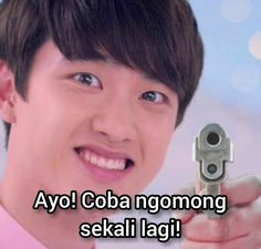 Ampun Soo~~ Funny Kpop Memes, Exo Memes, Meme Faces, Funny Faces, Aesthetic Letters, Exo Stickers, Reaction Face, Cartoon Jokes, Laugh A Lot