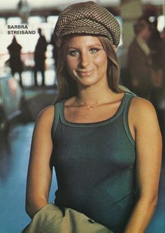 This portrait of Barbra Streisand is from the Photoplay Film Annual 1975.