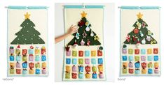 This adorable Advent Countdown Calendar Free Crochet Pattern will Keep the kids creatively engaged while counting down to Santa's arrival.