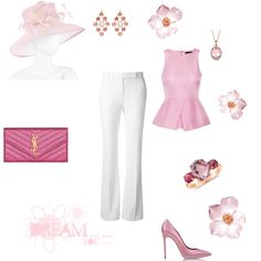 """Another light rose set"" by besyata on Polyvore"