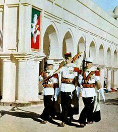 2e CSPL - Flag - Saharan parade uniforme