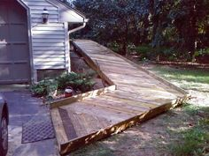 Deck and Wheelchair ramp