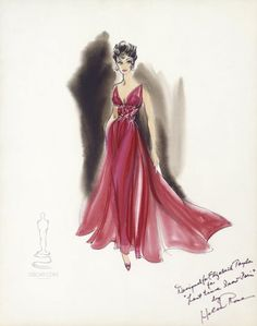 Costume design by Helen Rose. Elizabeth Taylor in the last time I saw Paris.