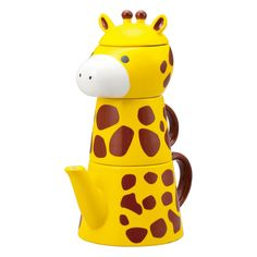 Giraffe Tea For One Set @Pascale Lemay Lemay Lemay Lemay Lemay De Groof