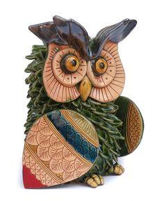 Green owl (5in)