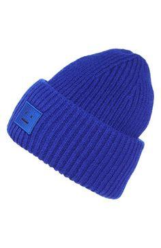 ACNE Studios  Pansy  Rib Knit Wool Beanie Knit Beanie b230833f0fc