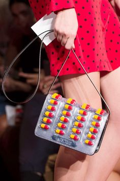 Moschino Spring '17 Pill Bag