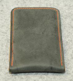 iPhone 6 Bio Leder Hülle/Tasche - CONCRETE von filzstueck auf DaWanda.com