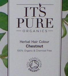 Soil Association Herbal Hair Powder to achieve a chestnut colour