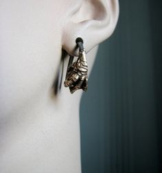 Gauge earrings bird claws