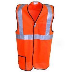 OccuNomix LUX SSBRP Hi-Viz Orange Mesh Safety Vest