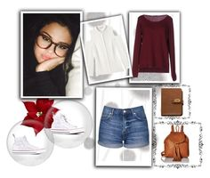 """""""#20"""" by eloisealice ❤ liked on Polyvore featuring Komar, Rebecca Minkoff, Fred Perry, Topshop, Lucky Brand, Mulberry and Converse"""